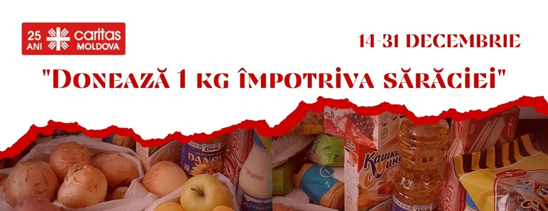 """Donate 1 kg against poverty"" Campaign"